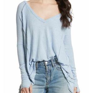 Light Blue Free People Thermal